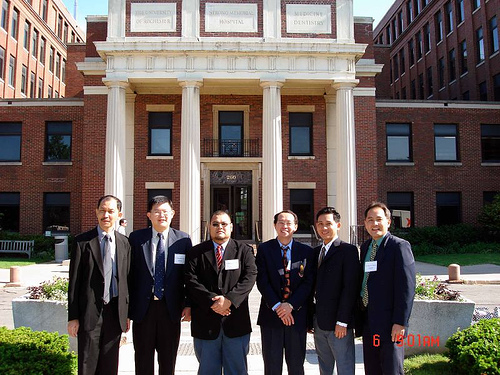 University of Rochester Medical School by AOA-ASEAN Traveling Fellows 2006.